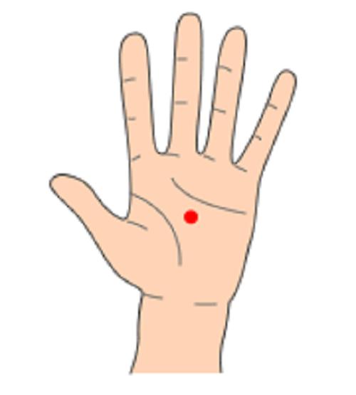 手のツボ 画像